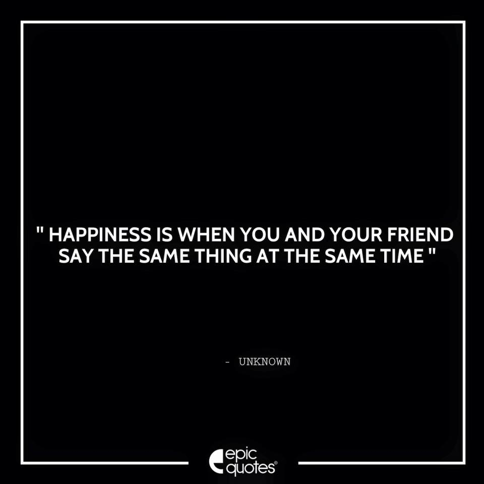 1077 Friendship Happiness