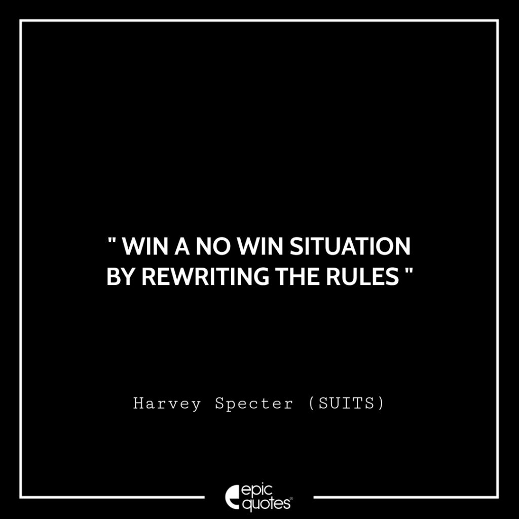 best harvey specter quotes