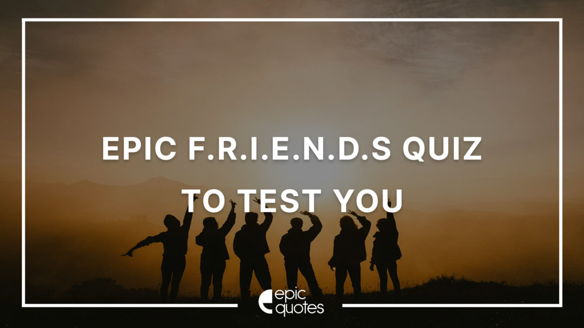 Epic FRIENDS Quiz To Test Your Trivia