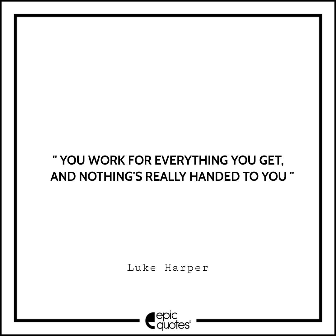 Best Luke Harper quotes to read