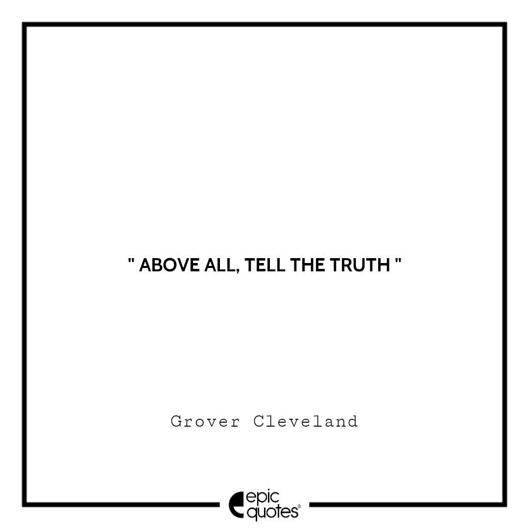 Best Grover Cleveland quotes to read