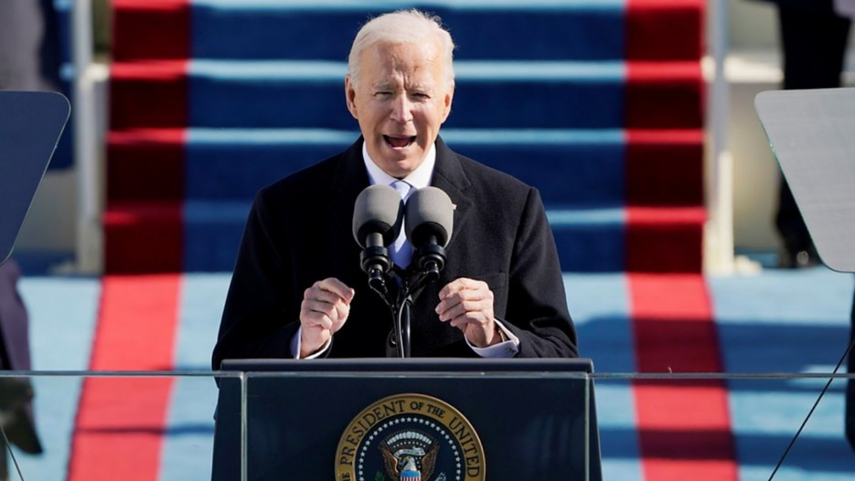 Joe Biden Inauguration quotes