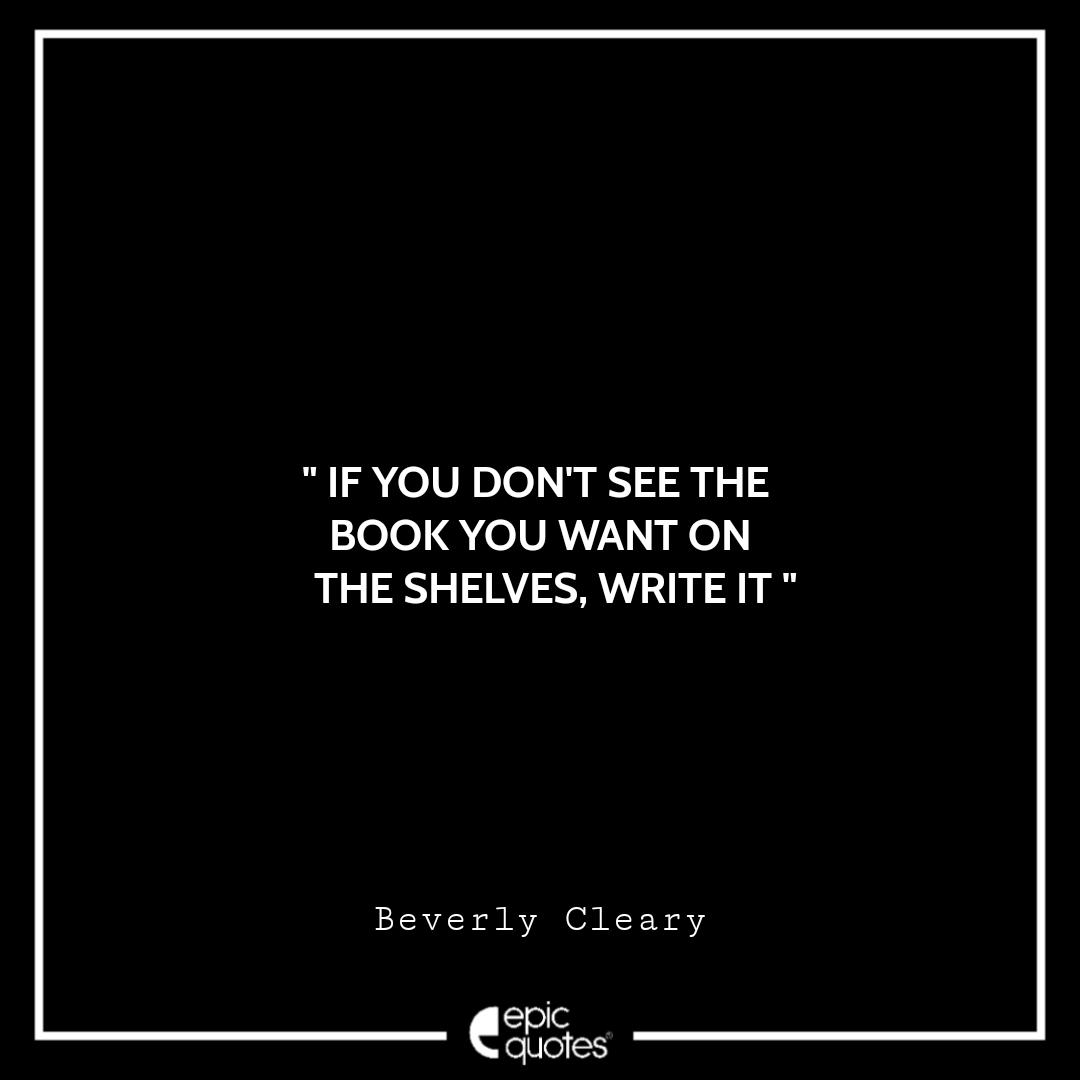Best Beverly Cleary quotes